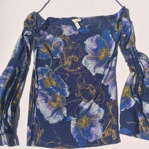 Free People NWT bell sleeve blouse